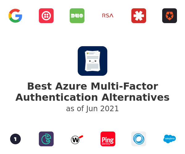 Best Azure Multi-Factor Authentication Alternatives