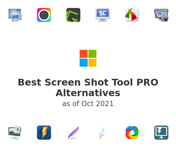 Best Screen Shot Tool PRO Alternatives