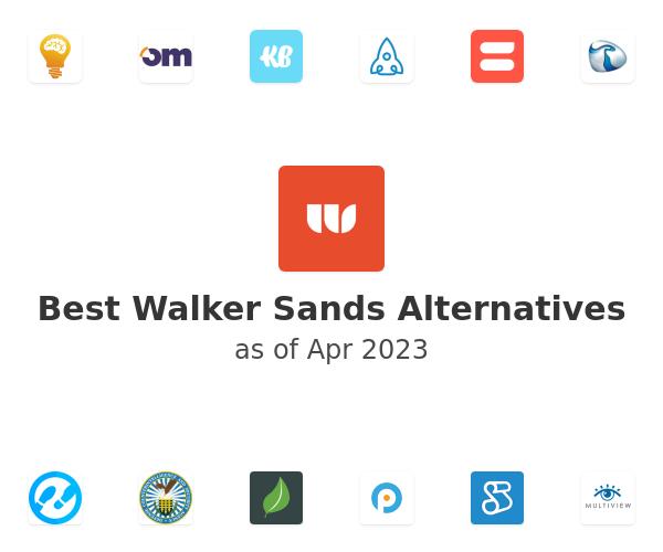 Best Walker Sands Alternatives