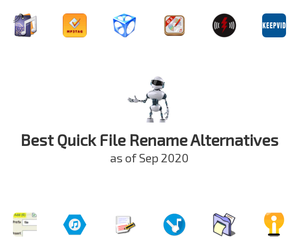 Best Quick File Rename Alternatives