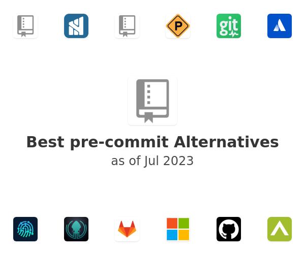 Best pre-commit Alternatives
