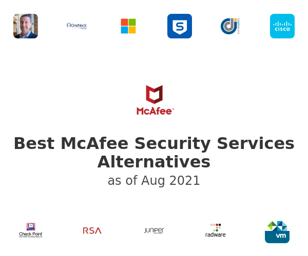 Best McAfee Security Services Alternatives