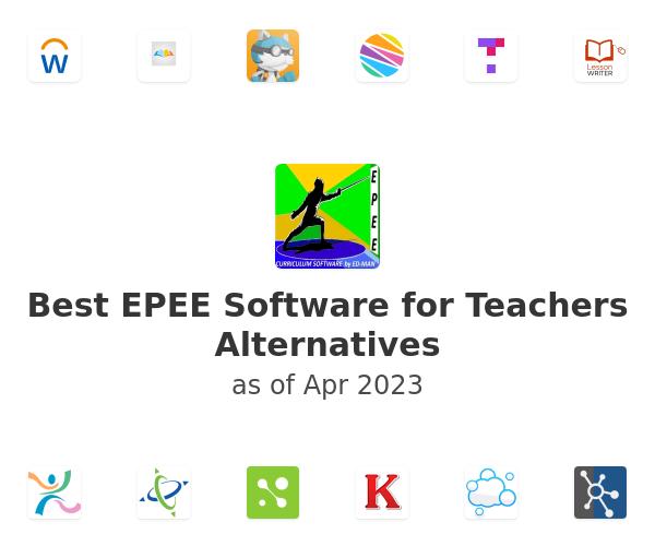 Best EPEE Software for Teachers Alternatives