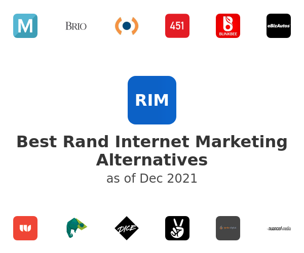 Best Rand Internet Marketing Alternatives