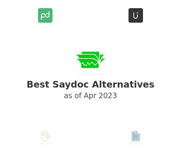 Best Saydoc Alternatives