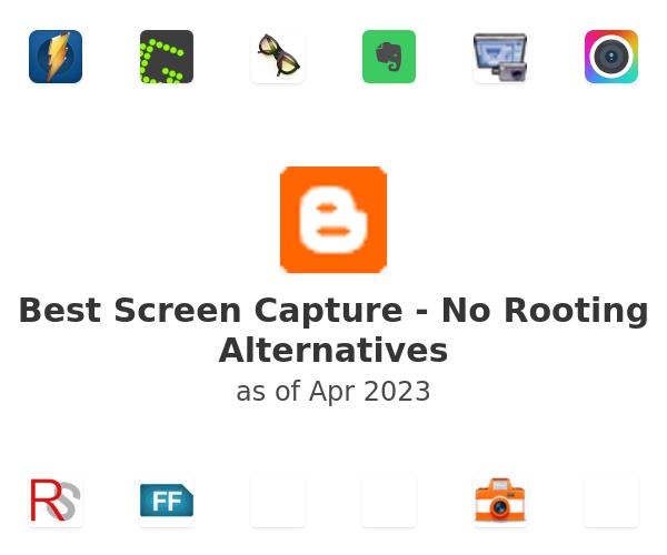 Best Screen Capture - No Rooting Alternatives