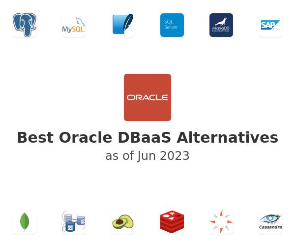 Best Oracle DBaaS Alternatives