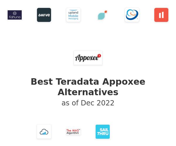 Best Teradata Appoxee Alternatives