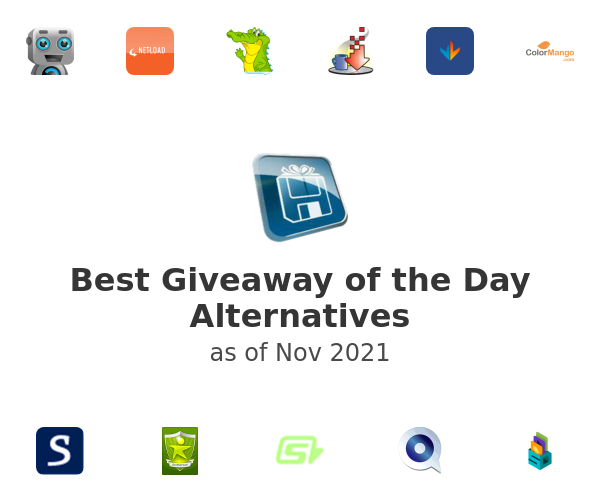 Best Giveaway of the Day Alternatives
