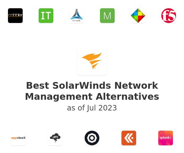 Best SolarWinds Network Management Alternatives