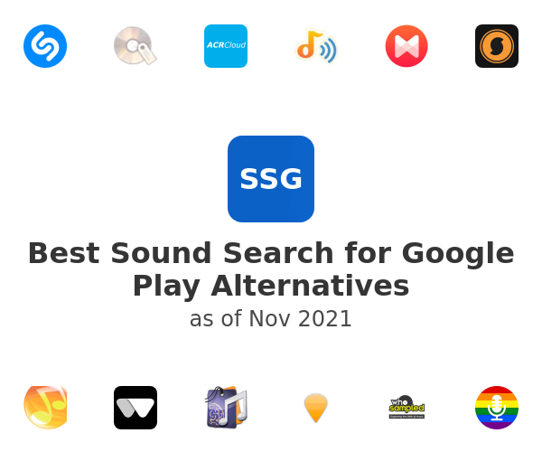 Best Sound Search for Google Play Alternatives