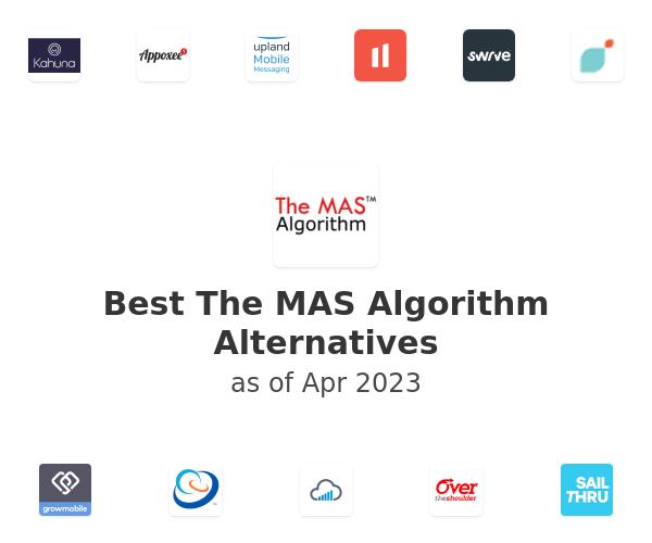 Best The MAS Algorithm Alternatives