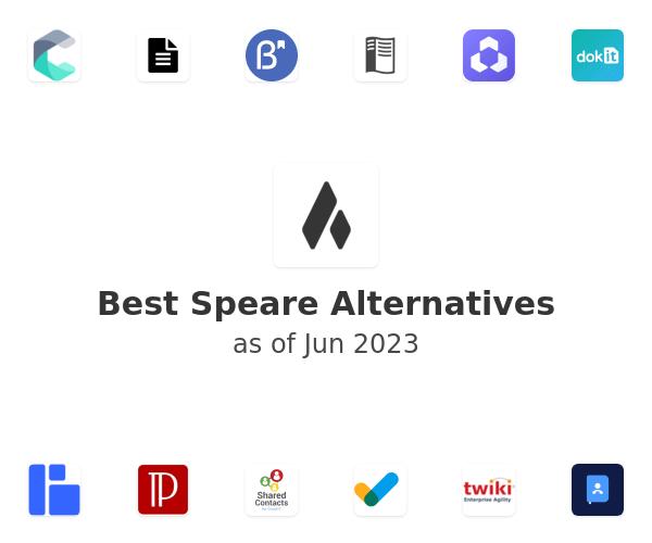 Best Speare Alternatives
