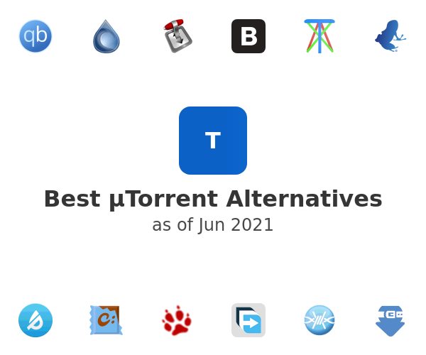 Best µTorrent Alternatives