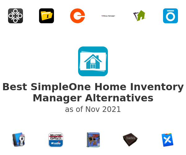 Best SimpleOne Home Inventory Manager Alternatives