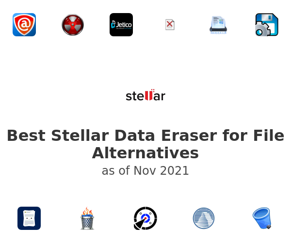 Best Stellar Data Eraser for File Alternatives