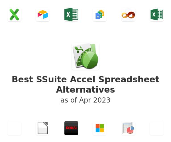 Best SSuite Accel Spreadsheet Alternatives