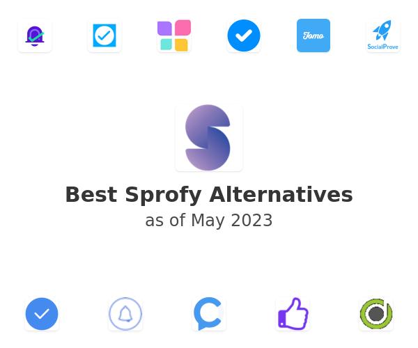 Best Sprofy Alternatives