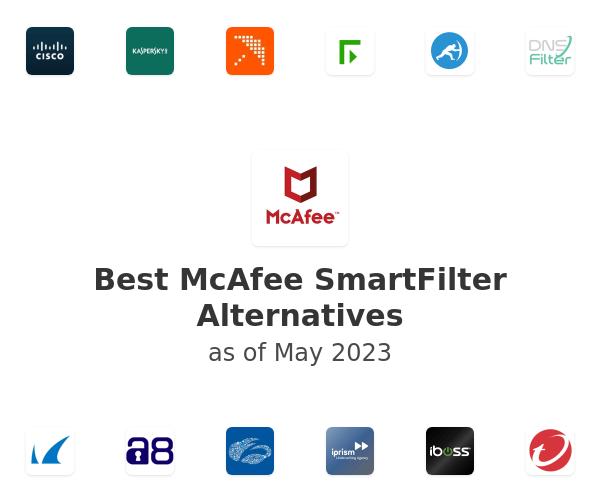 Best McAfee SmartFilter Alternatives