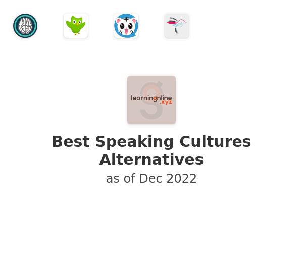 Best Speaking Cultures Alternatives