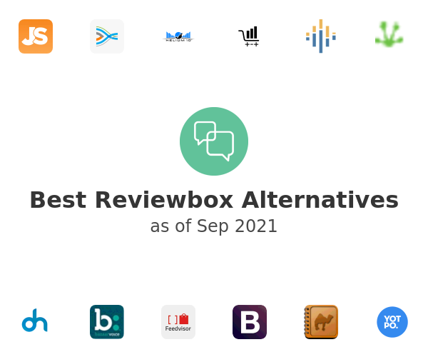 Best Reviewbox Alternatives