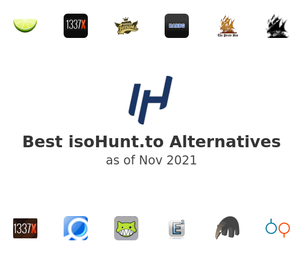 Best isoHunt.to Alternatives