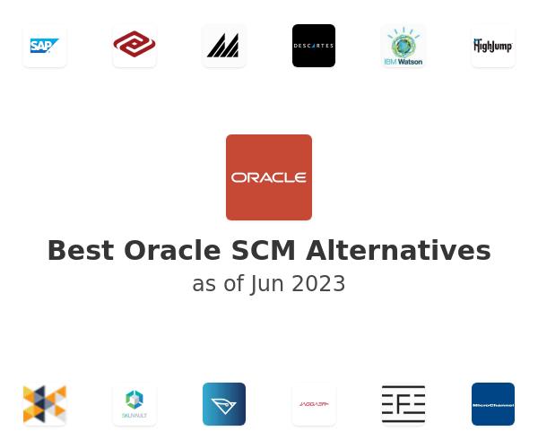 Best Oracle SCM Alternatives