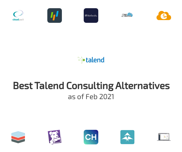 Best Talend Consulting Alternatives