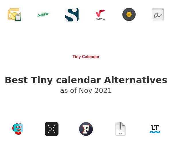 Best Tiny calendar Alternatives