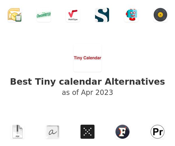 Best Tiny calendar Alternatives