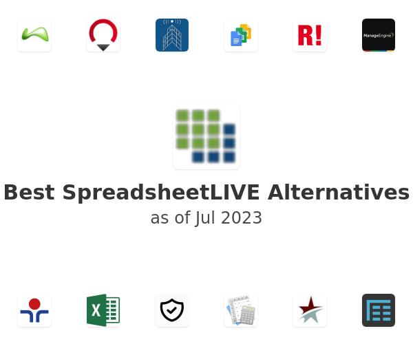 Best SpreadsheetLIVE Alternatives