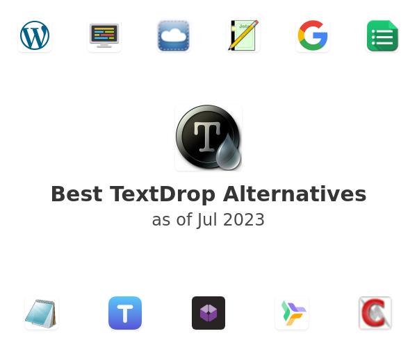 Best TextDrop Alternatives