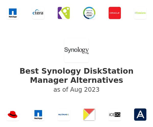 Best Synology DiskStation Manager Alternatives
