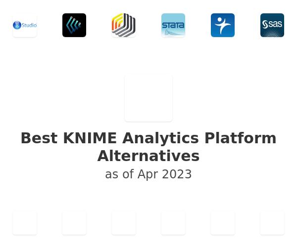 Best KNIME Analytics Platform Alternatives