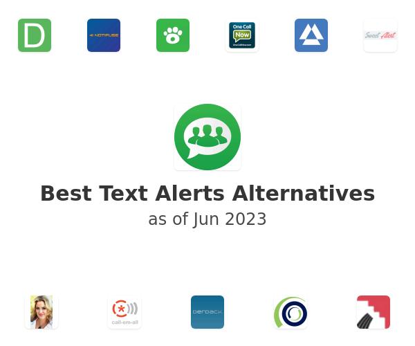 Best Text Alerts Alternatives