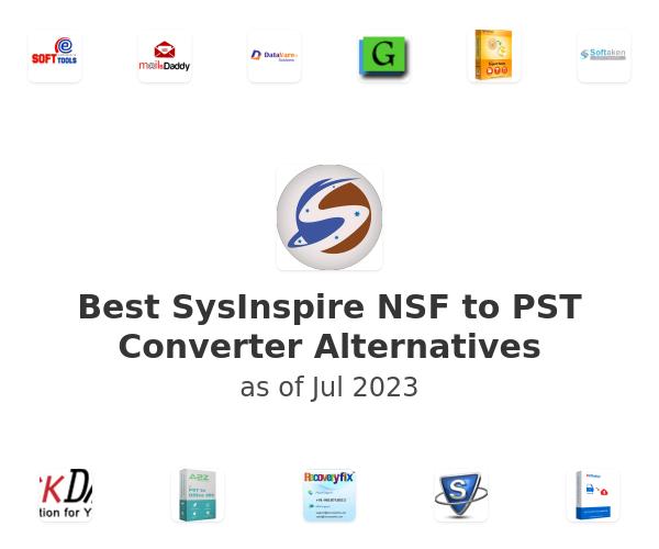 Best SysInspire NSF to PST Converter Alternatives
