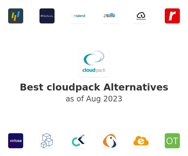 Best cloudpack Alternatives