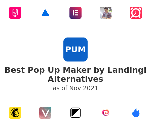 Best Pop Up Maker by Landingi Alternatives