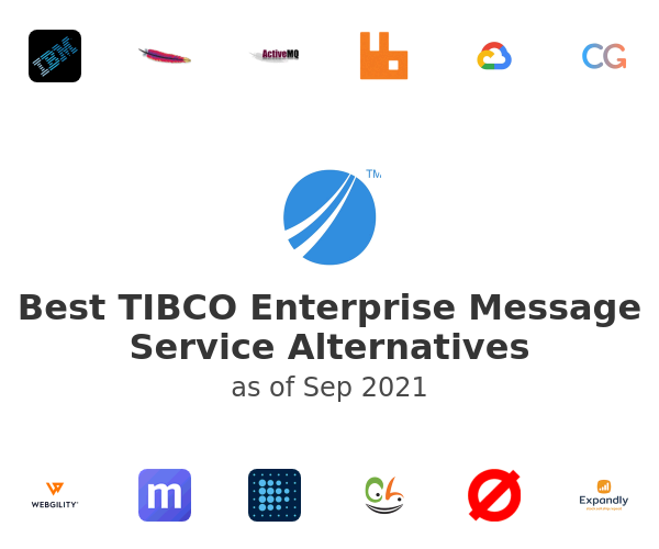 Best TIBCO Enterprise Message Service Alternatives