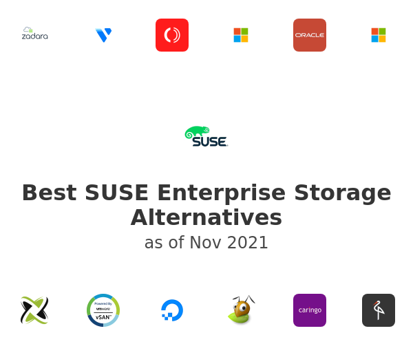 Best SUSE Enterprise Storage Alternatives