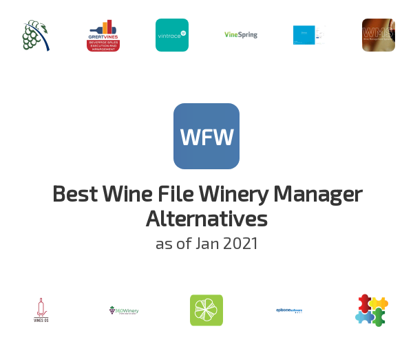 Best Wine File Winery Manager Alternatives