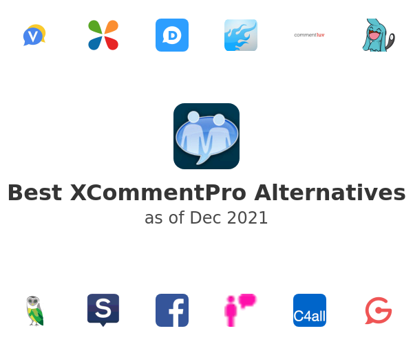 Best XCommentPro Alternatives