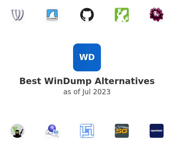 Best WinDump Alternatives