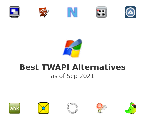 Best TWAPI Alternatives