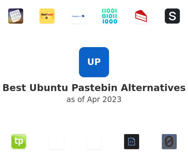 Best Ubuntu Pastebin Alternatives