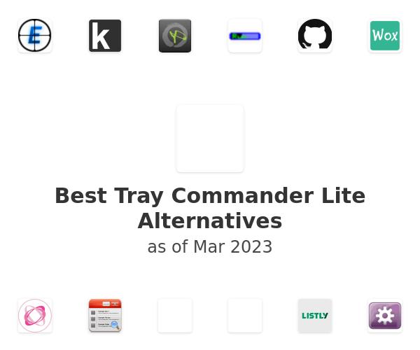 Best Tray Commander Lite Alternatives