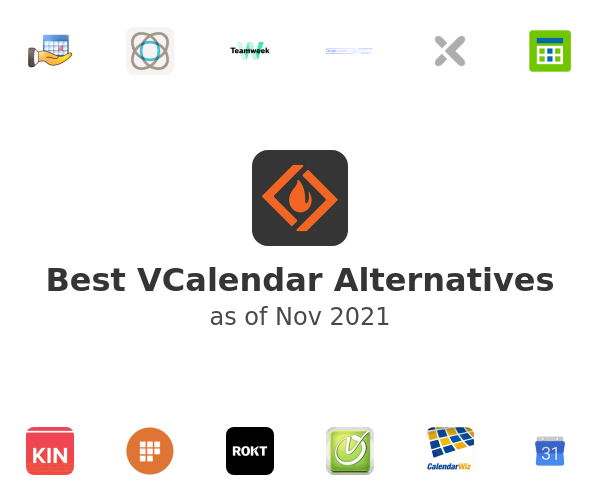 Best VCalendar Alternatives