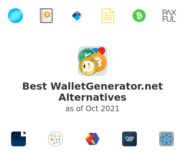Best WalletGenerator.net Alternatives