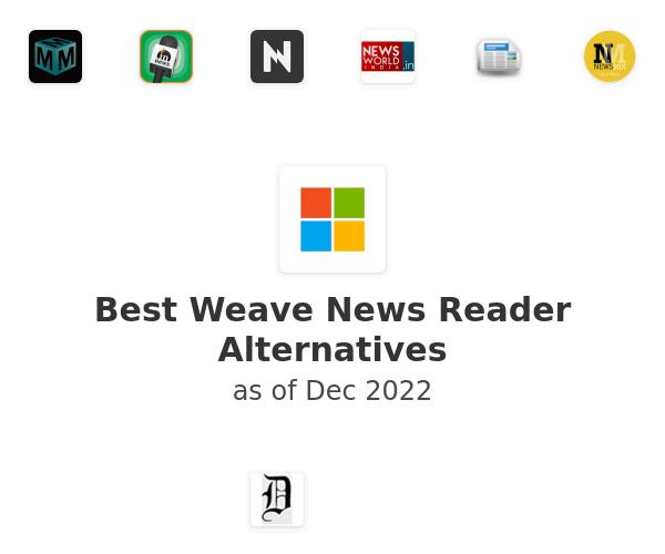 Best Weave News Reader Alternatives