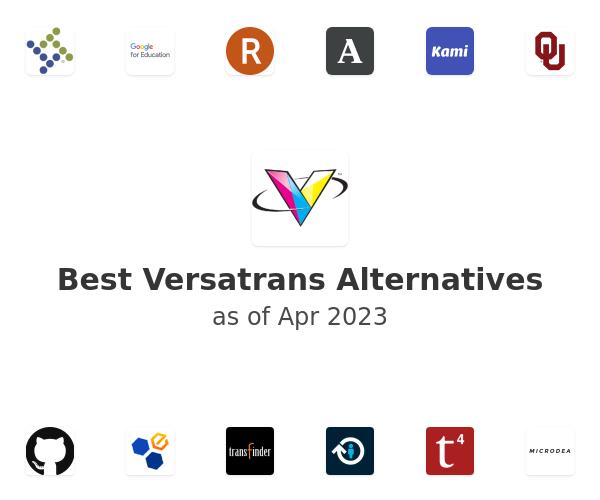 Best Versatrans Alternatives